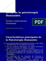 metas de la psicoterapia humanista
