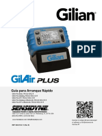 GilAir Plus Quick-Start Guide SPANISH 360-0135-11rE