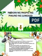 COT-PPTX in AP Paraan Ng Pagpili Ng Pinuno