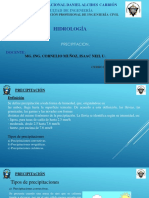 CLASE N° 04 - HIDROLOGIA