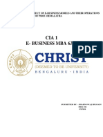 e Business CIA