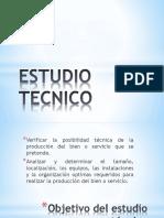 ESTUDIO TECNICO