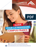 Guide Campus France Maroc 29-11. 2018 PDF