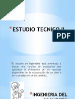 Estudio Tecnico II