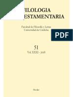 Filología Neotestamentaria 51 - V.v.a.A