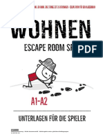 escape room - wohnen- alle unterlagen a1-a2 1