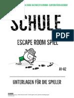 escape room - schule- alle unterlagen 1