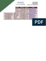 La Interfax de Excel