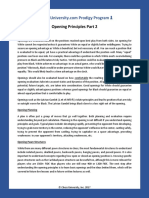 Prodigy Program Written Lecture Opening Principles 2