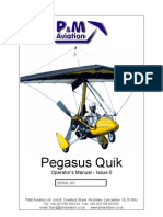 Pegasus Quik 912 owners manual