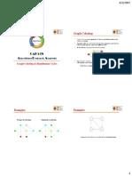 Graph Coloring & Hamiltonian Cycles