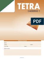 Caderno Tetra 1