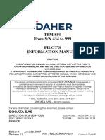 TBM850 Pilot Manual