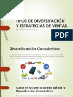 Tipos de Diversifación y Estrategias de Ventas