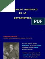 1. Historia de La Estadistica. 2da Parte