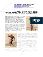 Sergio Oliva, The Myth
