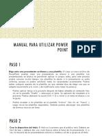 Manual Para Utilizar Power Point