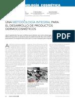 Una Metodologia Integral Para El Desarrollo de Productos Dermocosmeticos