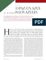 Octavio Paz. Un Azul y Todos Los Azules de Juan Malpartida