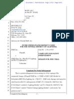 DMF v. AMP Plus - Complaint