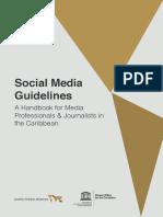Social Media Guideline a Handbook 2017 01