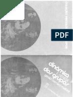 Dinamica e Genese Dos Grupos Psicologia Social