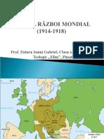 263-Prezentare Primul Război Mondial Cls. Vii