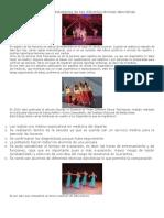 Las Lesiones en Estudiantes de Tres Diferentes Técnicas Dancísticas