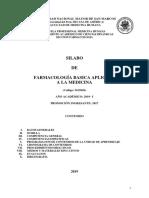 2019 I M15026 Farmacologia Basica Aplicada Medicina