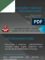 Clasificación y Tipos de Organizaciones