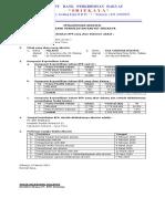 Pengumuman Akuisisi BPR
