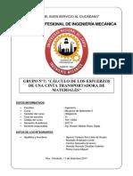 PROYECTO CINTAS TRANSPORTADORAS