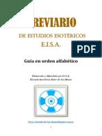 BREVIARIO  E.I.S.A.