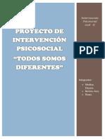 Estructura de Intervención Psicosocial