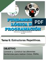 Fundamentos Lógica de Programación - Tema 6 Ver 1