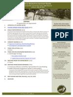 PRAB Agenda May 2019