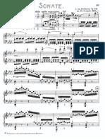 Beethoven Piano Sonata 31 Op 110 Mov 1