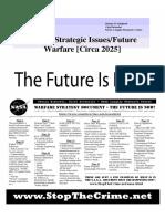 NASA Future Strategic Issues and Warfare