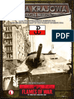 Flames of War III (Intelligence Briefing) - Armia Krajowa (Warsaw Uprising)