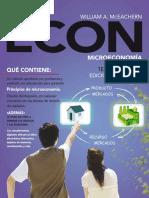 ECON Microeconomía, 3ra Edición - William a. McEachern