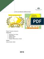 Informe Proyecto de Inversion