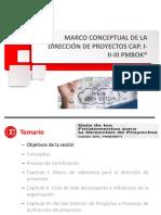 1. PPT Marco Conceptual Cap I, II y III PMBOK 6ta