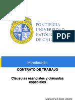 Contrato de Trabajo Chile 2019