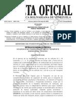 Gaceta Oficial Extraordinaria 6457