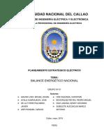 Balance Energètico Nacional