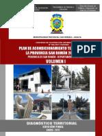 1 Volumen 1 - Diagnostico PAT San Román 2016-2025