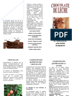 Chocolate Folleto
