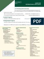 International Student Application Guide