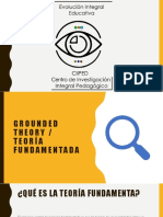 Grounded Theory - Teoría fundamentada