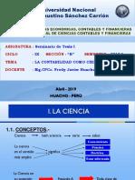 Diapositiva Proyecto de Tesis I - IX Ciclo B 2019 I Parte 1